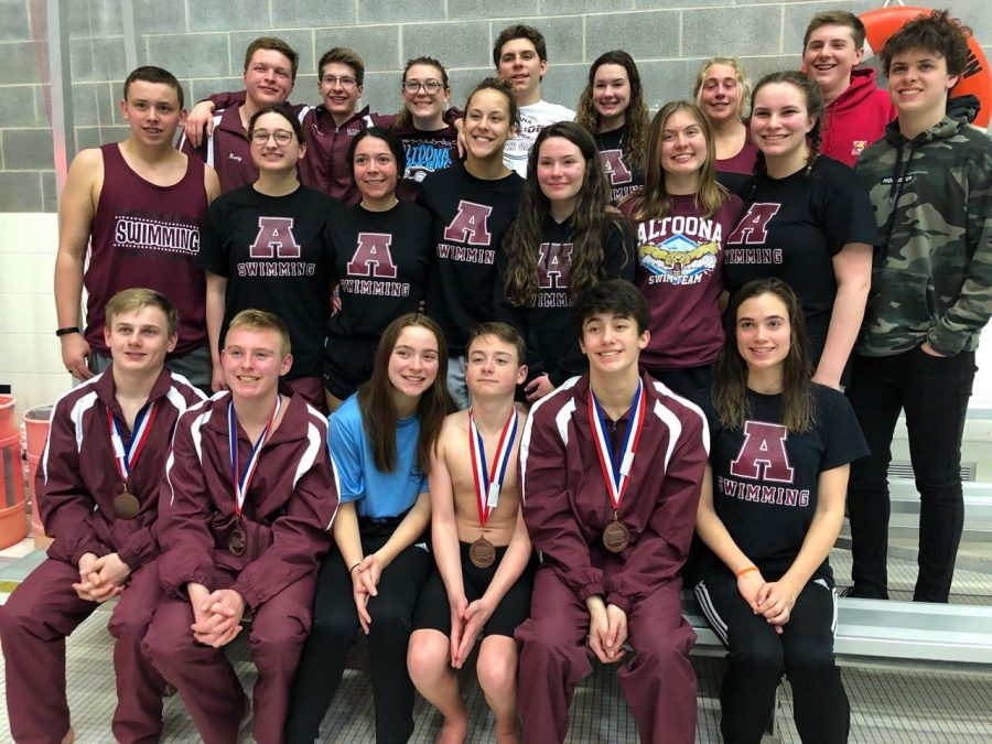 In+February+of+2020%2C+the+swim+team+traveled+to+State+College+to+compete+in+the+District+Six+Swimming+and+Diving+Championships.+Due+to+COVID-19+restrictions%2C+the+team+will+not+be+able+to+take+as+many+members.++