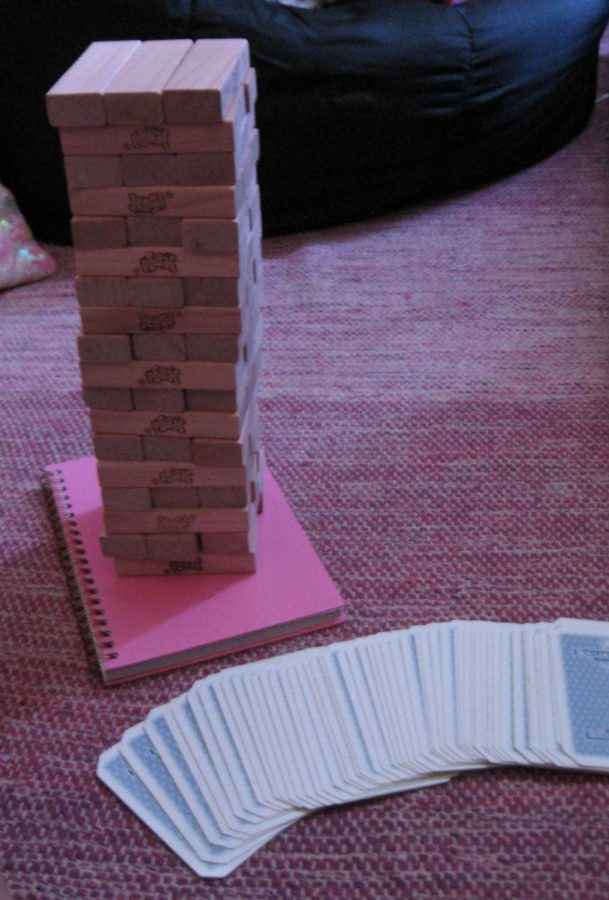 Ready+to+play%21+Jenga+and+a+deck+of+cards+sit+out+ready+to+play.+The+experiment+to+see+if+games+met+up+to+past+expectations+was+a+success.+Many+games+were+played+and+were+all+able+to+be+reflected+on.+%0A