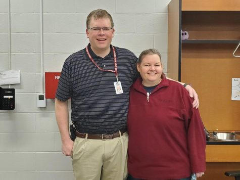 Christine Falger has been teaching for 22 years and Joseph Falger has been teaching for 19 years.