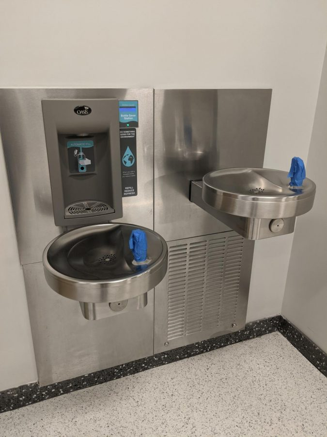 Water options limited for thirsty students