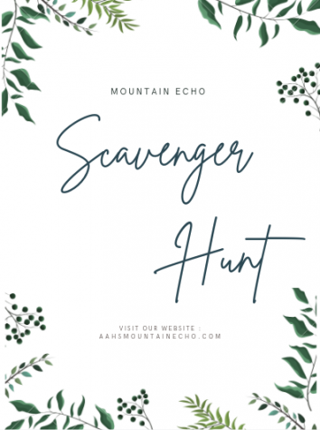 Mountain Echo to host scavenger hunt