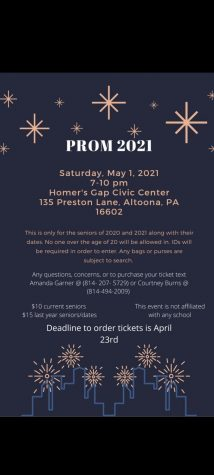 "As the 2021 school year comes to an end an alternative prom is happening. ""I hope that the 2021 and 2020 seniors attending will enjoy and make memories from this night,"" parent Courtney Burns said."