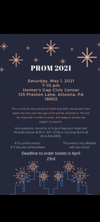 As the 2021 school year comes to an end an alternative prom is happening.