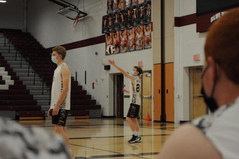 Boys volleyball team ends season