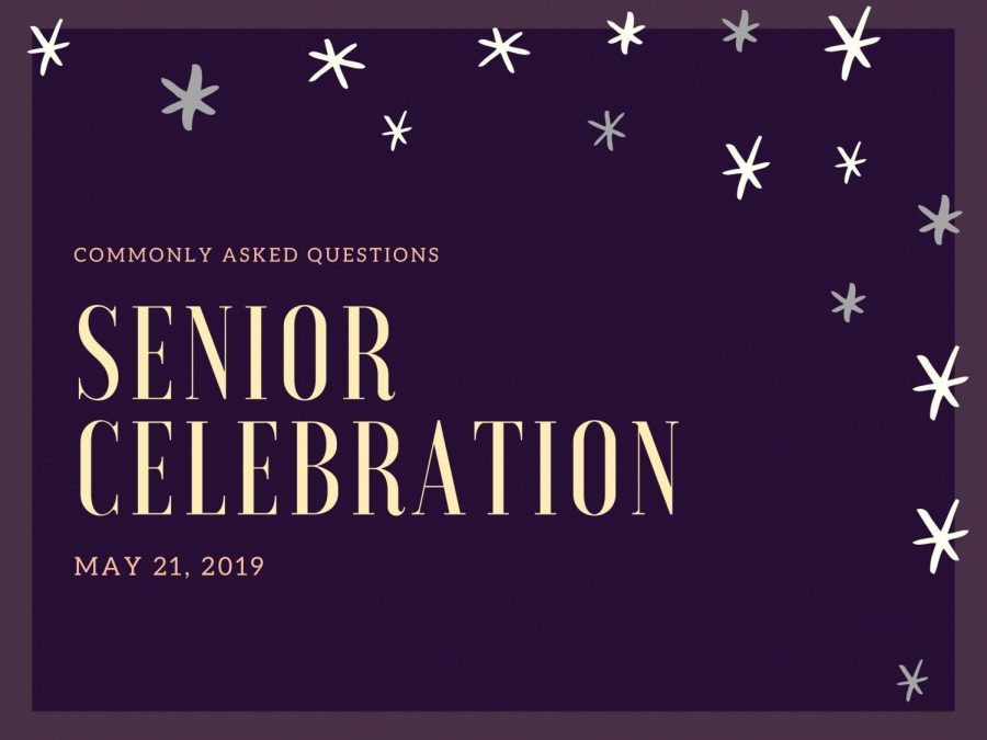 Harris shares answers to commonly asked Senior Celebration questions