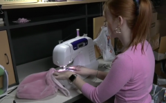 Revival by Rylie! Whitaker sews together a purse. Whitaker is competing in a competition with her business with the possibility of winning cash or a scholarship.