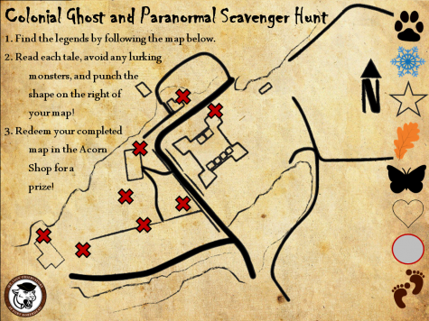 Spooky!  On Oct. 9, Fort Roberdeau guests will be able to participate in the colonial ghost scavenger hunt. There will also be trick or treating for kids and 30 minute presentations.