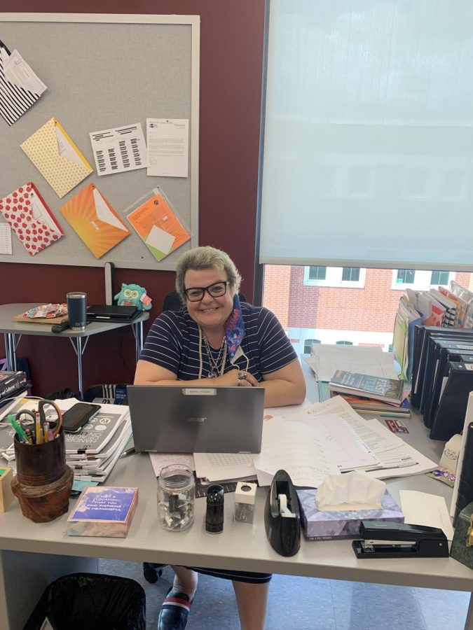 Happy Teacher Maria Tyger is happy to be a new member of the faculty at Altoona. She teaches English and loves working with special education kids.