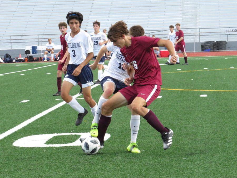 Boys varsity soccer against Mifflinburg