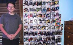 Funko Pops Freshman Jace Baronner has a collection of Funko Pops worth more than $1,500. He saved up for the figures by working at his fathers garage door business.